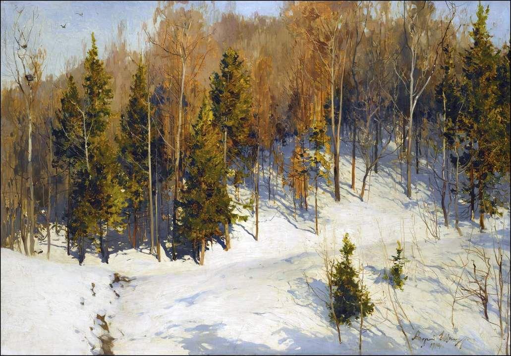 soleil d'hiver 1906