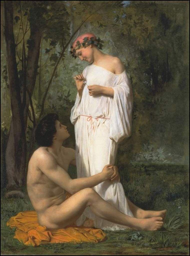 Couple amoureux Idylle
