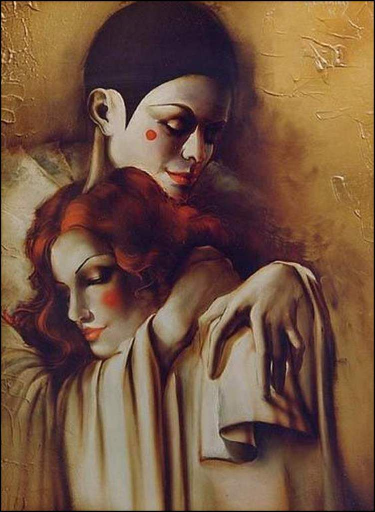 Pierrot et colombine
