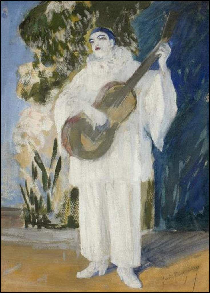 Pierrot musicien
