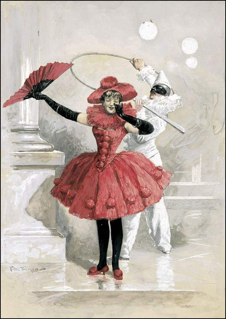colombine et pierrot
