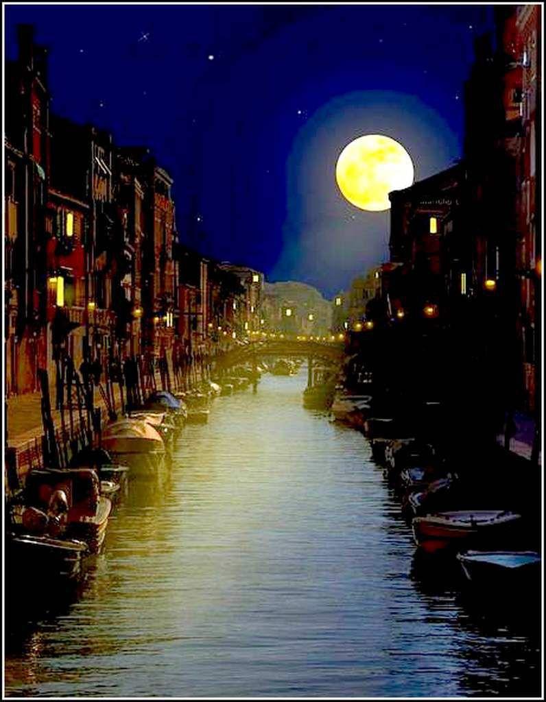 La nuit - Venise - Italie