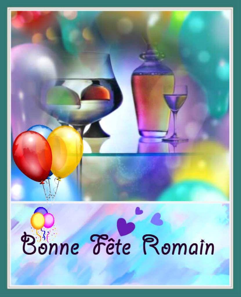 Bonne fête Romain