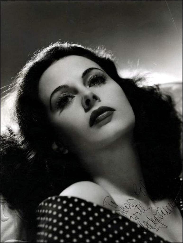 retro ,- Hedy Lamarr (1914-2000) - actrice
