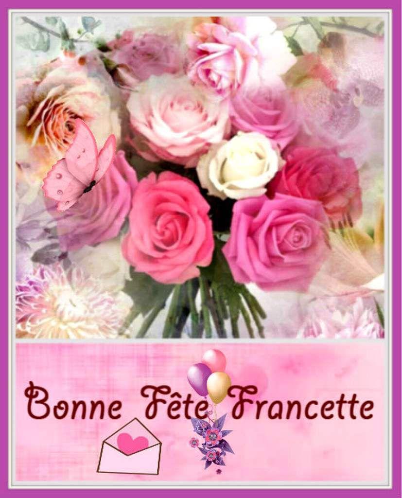 bonne fête Francette