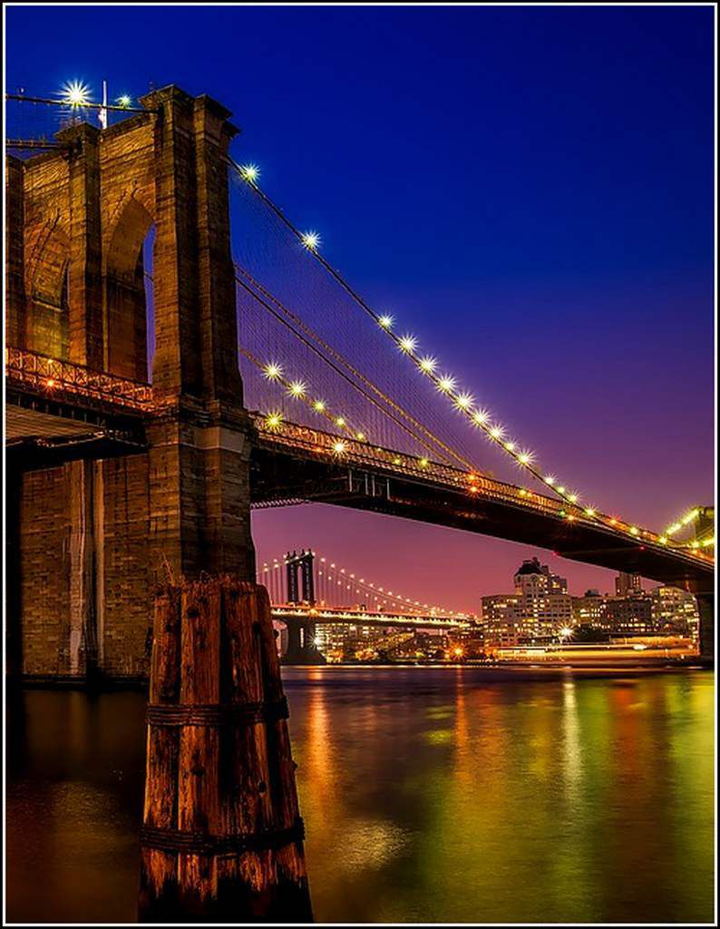 New-York - pont de brooklyn - USA