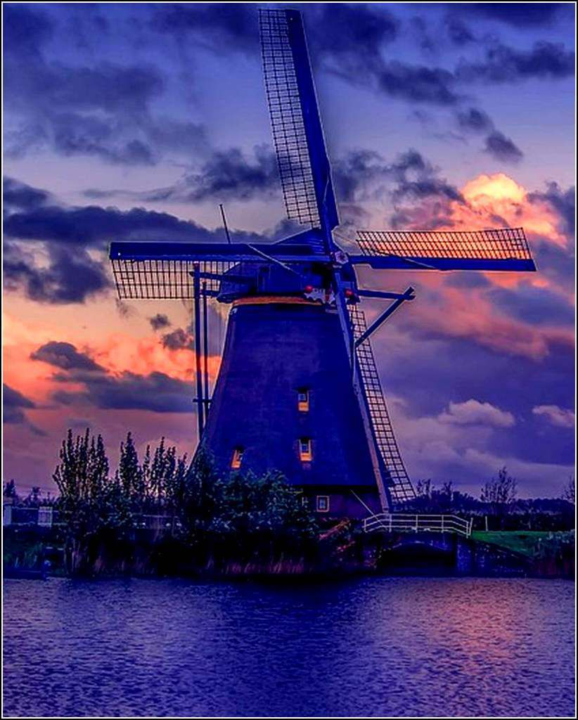 Pays- Bas - moulin