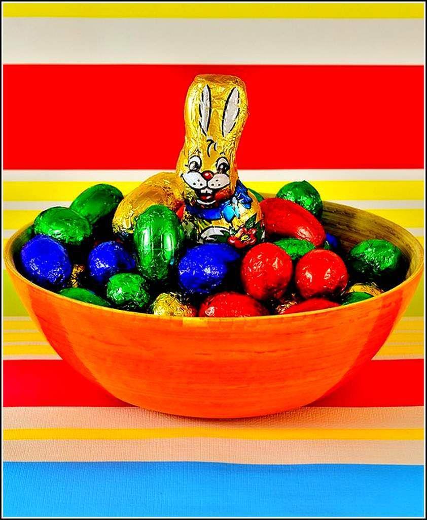 Les couleurs - les oeufs de Pâques
