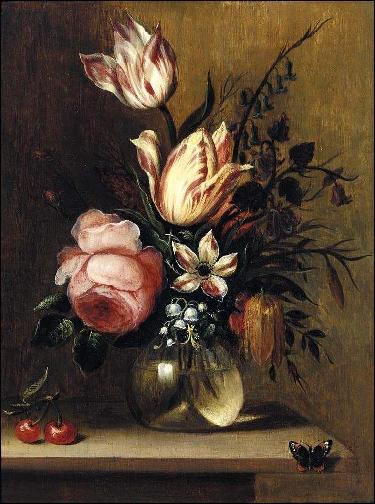 tulipes et roses