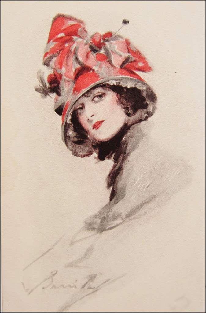 Femmes à chapeau par les grands peintres (309)