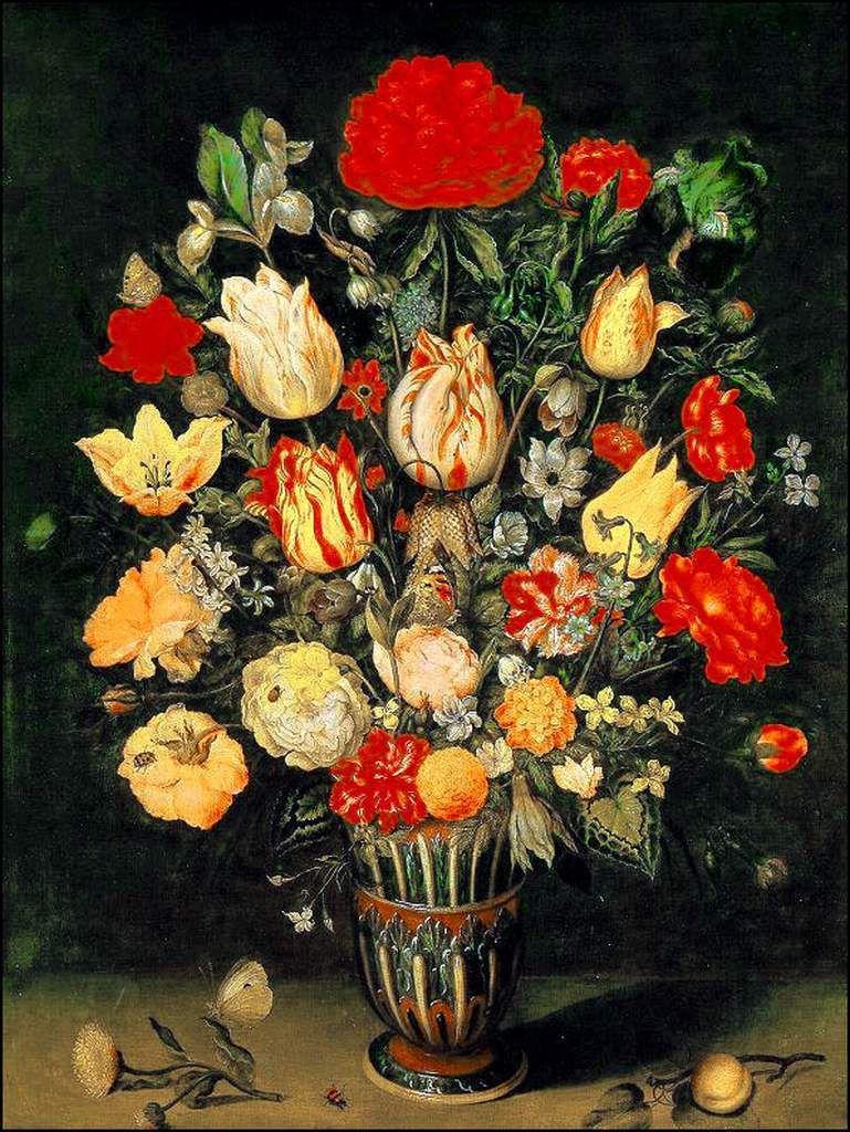 Les fleurs par les grands peintres (35)