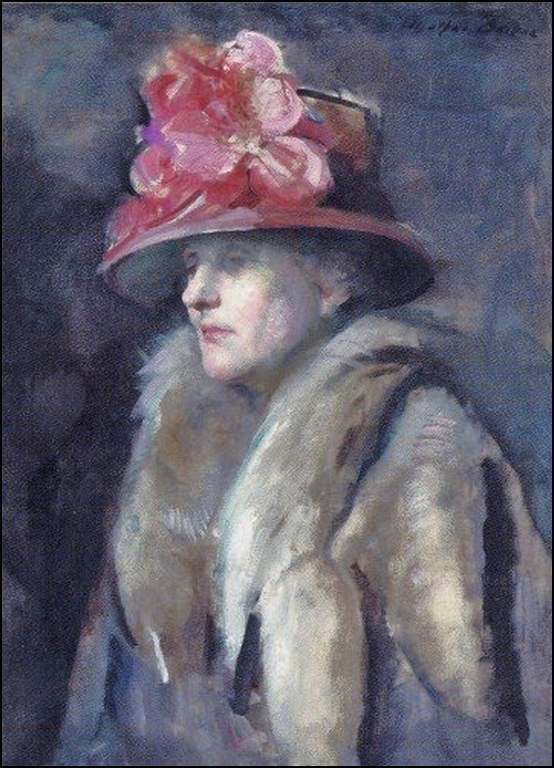 Femmes à chapeau par les grands peintres (312)