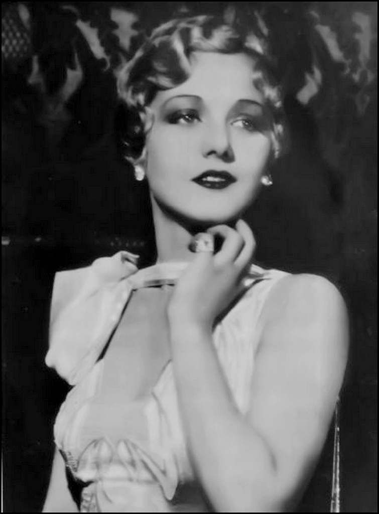 retro - Leila Hyams (1905-1977) - actrice
