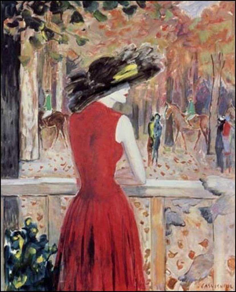 Femmes à chapeau par les grands peintres (319)