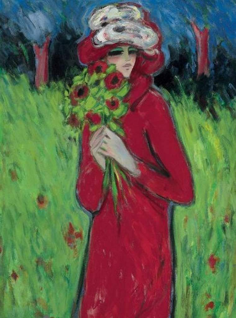 Femmes à chapeau par les grands peintres (320)