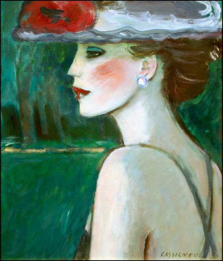 Femmes à chapeau par les grands peintres (321)