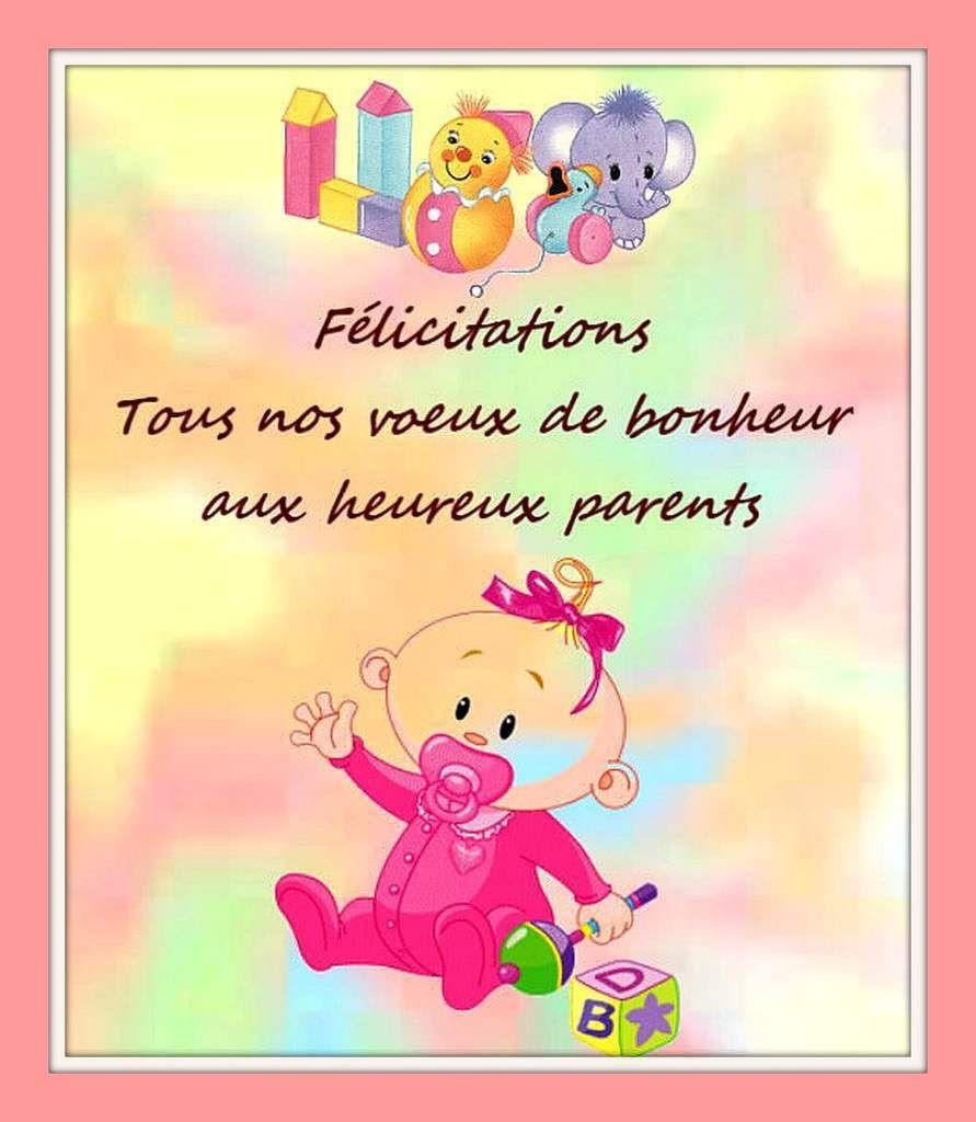 cartes félicitations naissance