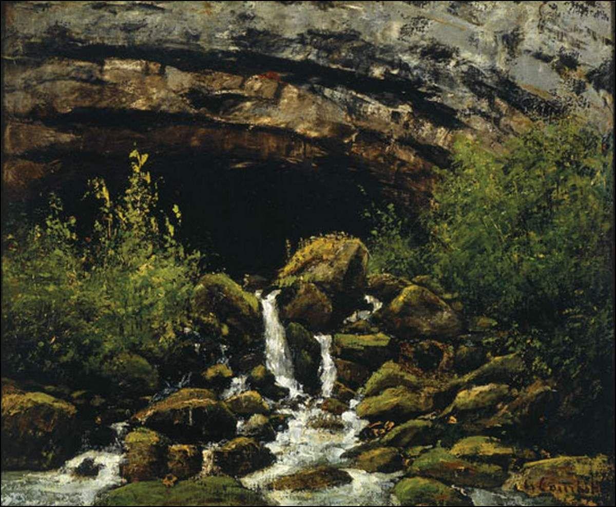 Gustave Courbet (1819-1877) Source dans le Jura