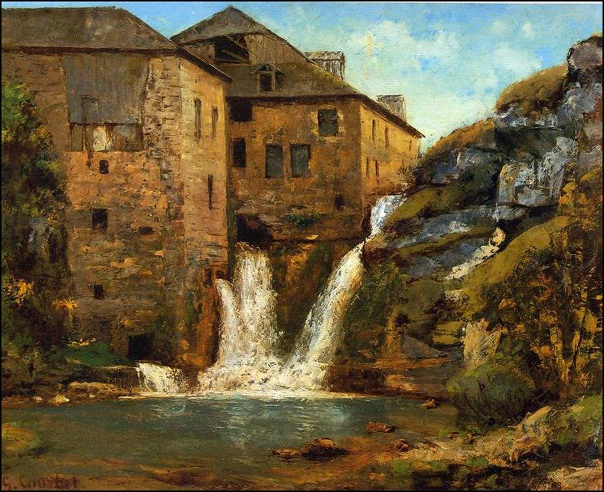 Gustave Courbet (1819-1877) Le vieux moulin