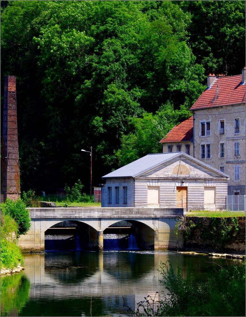 Fraisans - Jura - l'ancienne forge