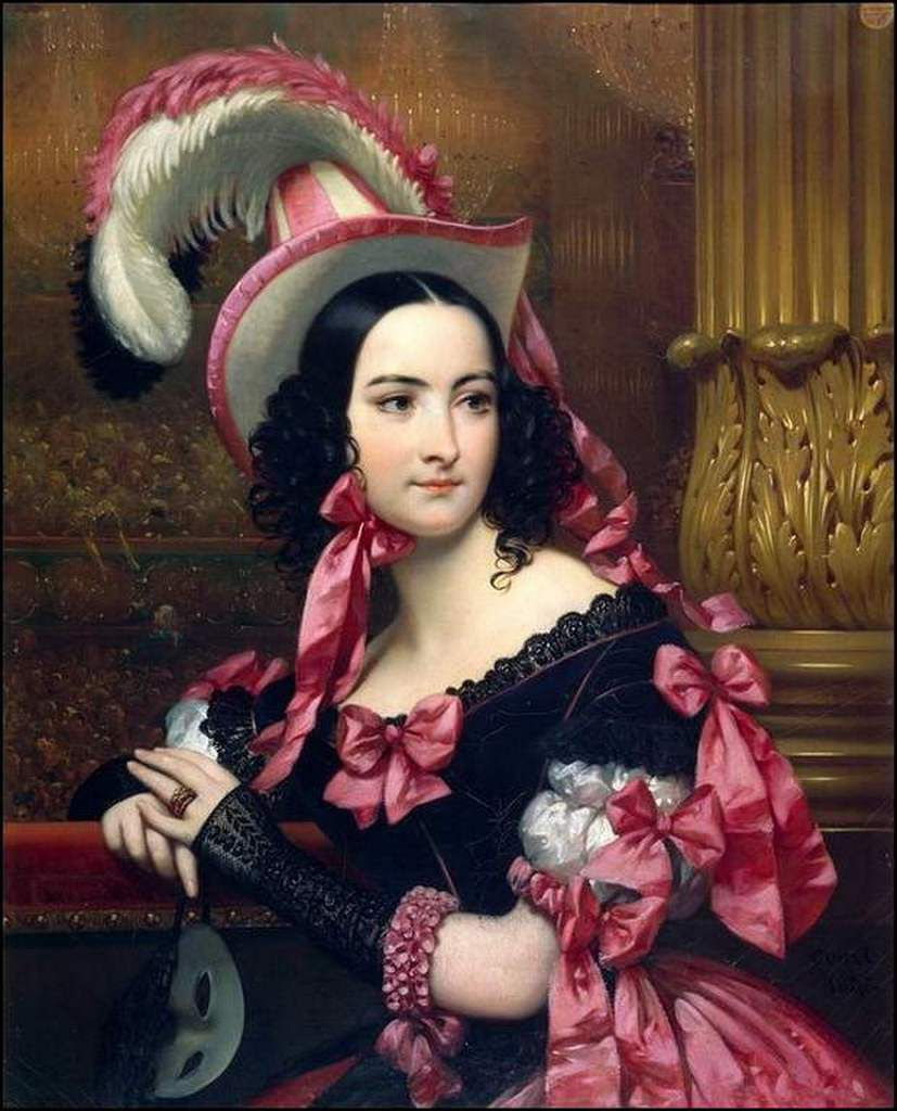 La Vénitienne au bal masqué