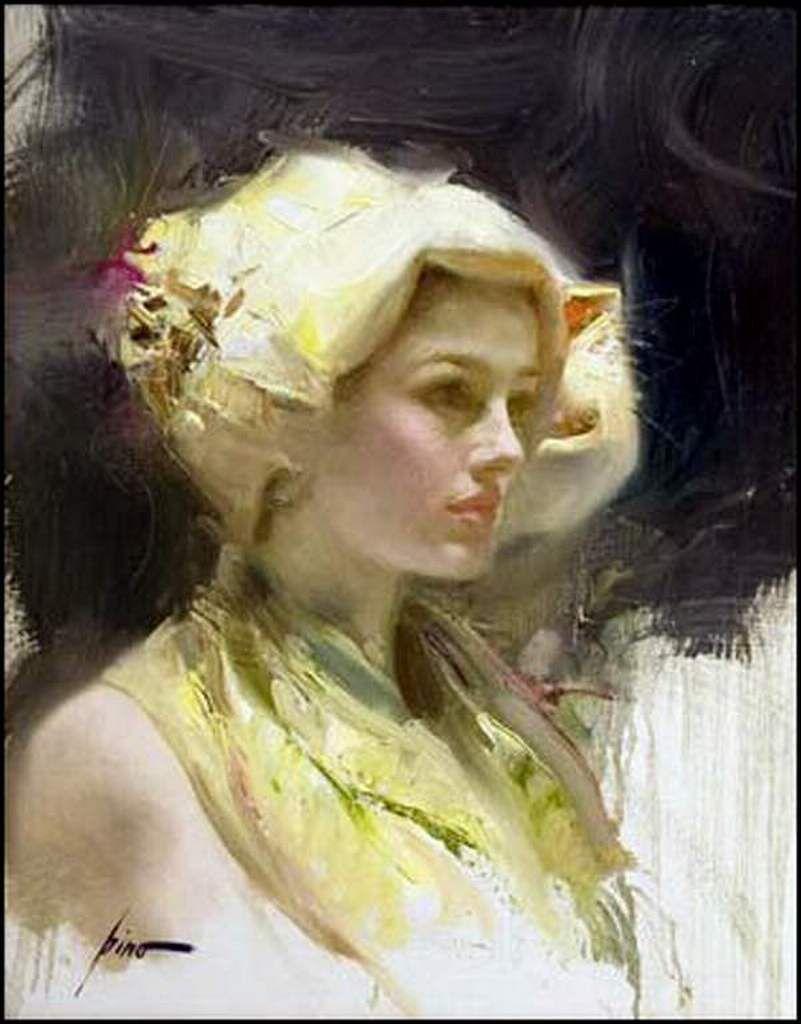 Femmes à chapeau par les grands peintres (333)