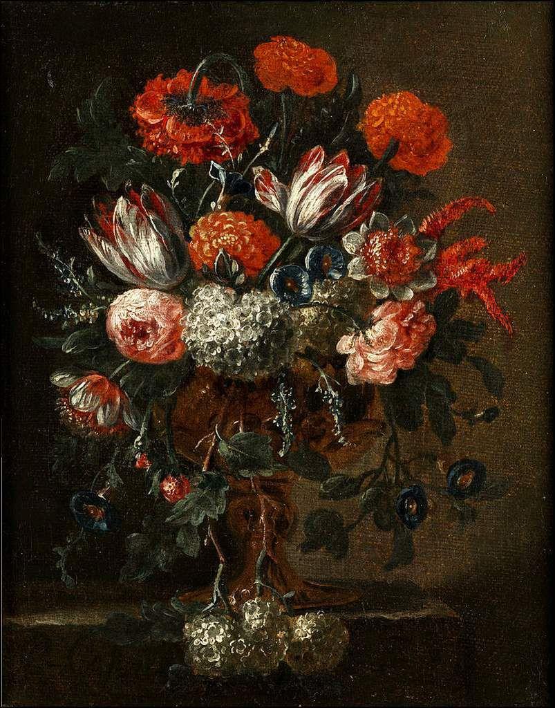 Les fleurs par les grands peintres (56) -Pieter III Casteels (1684-1749)