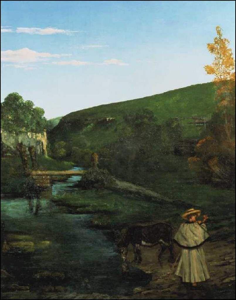 La Franche-Comté Gustave Courbet (1819-1877) Paysage du Jura