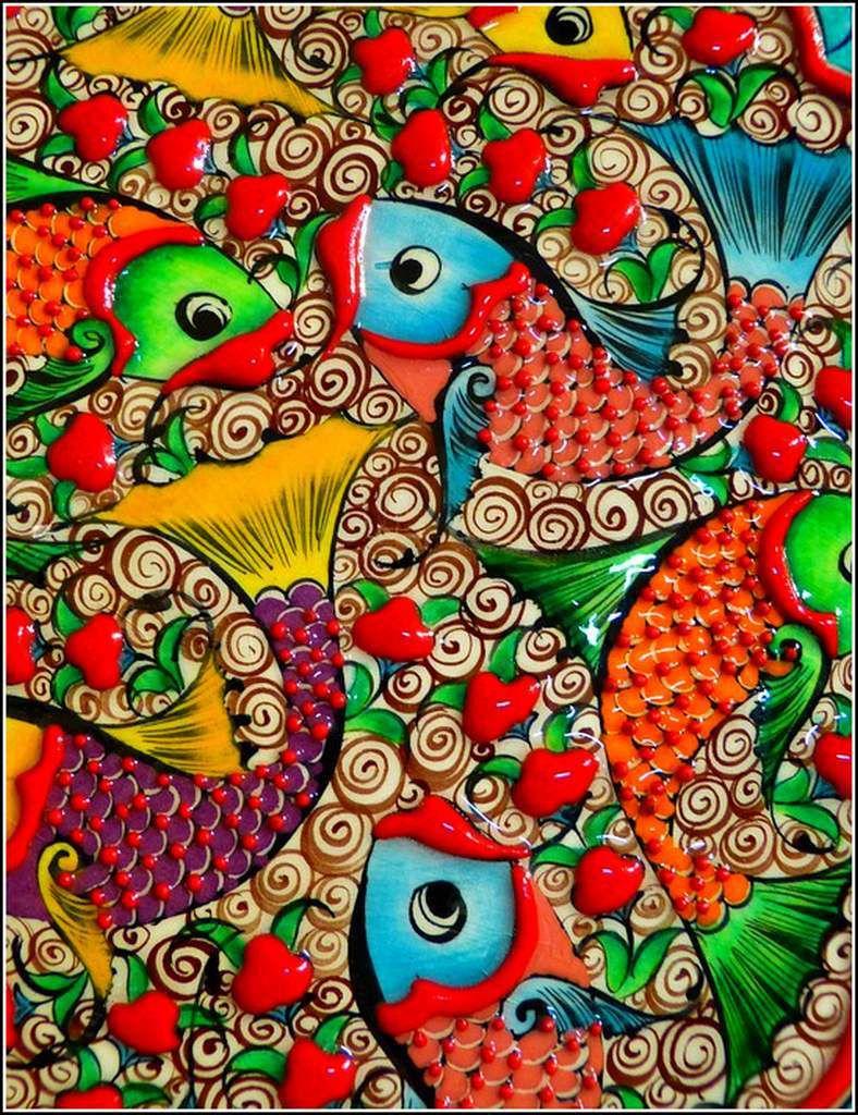 Les couleurs en images - mosaique