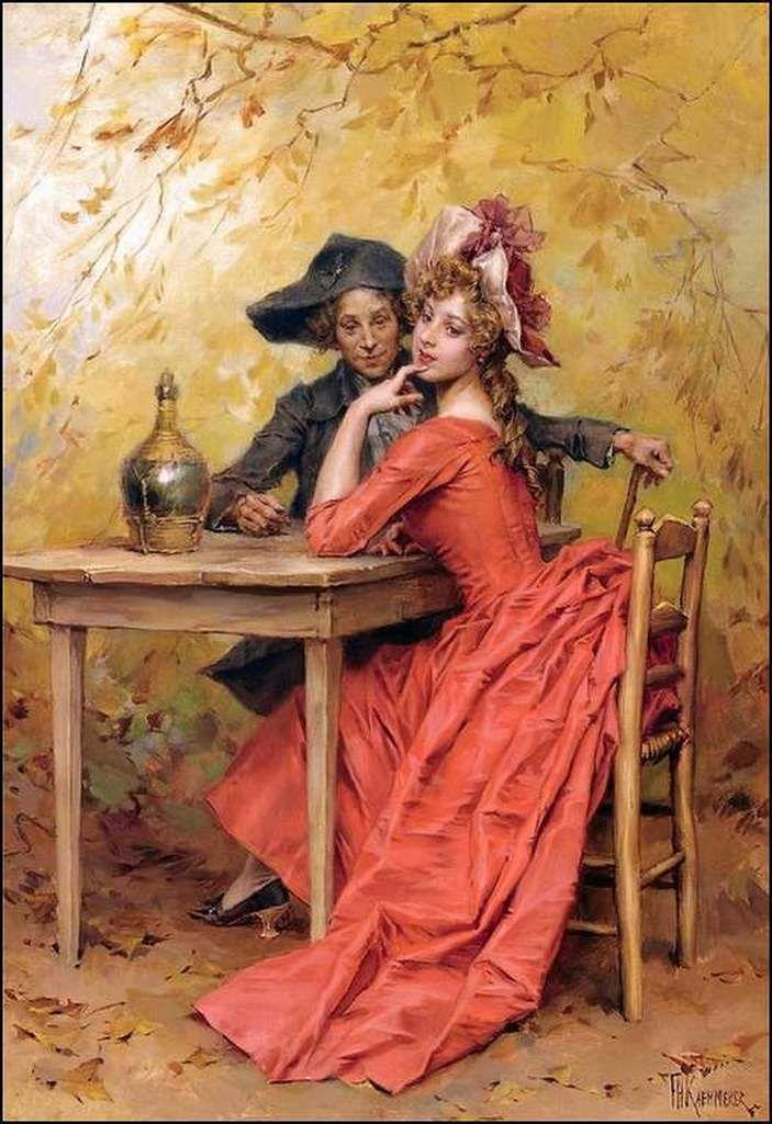Amoureux en peinture - Frederik Hendrik Kaemmerer (1839-1902)