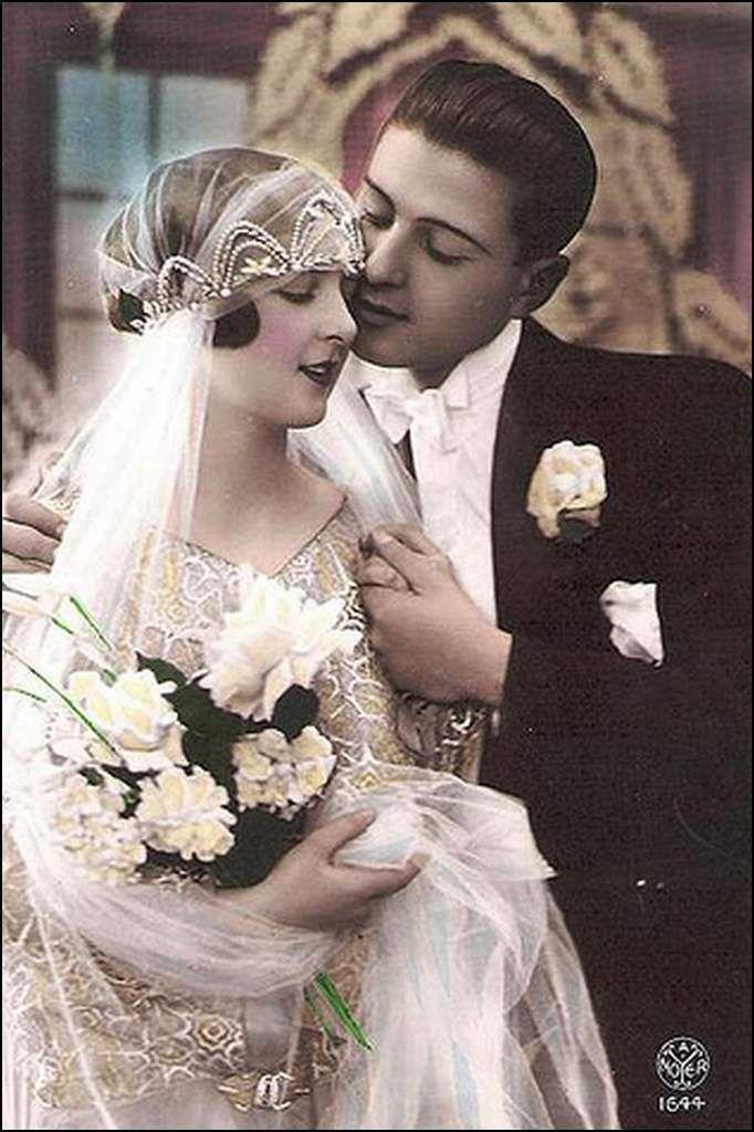 vintage romantique - couple
