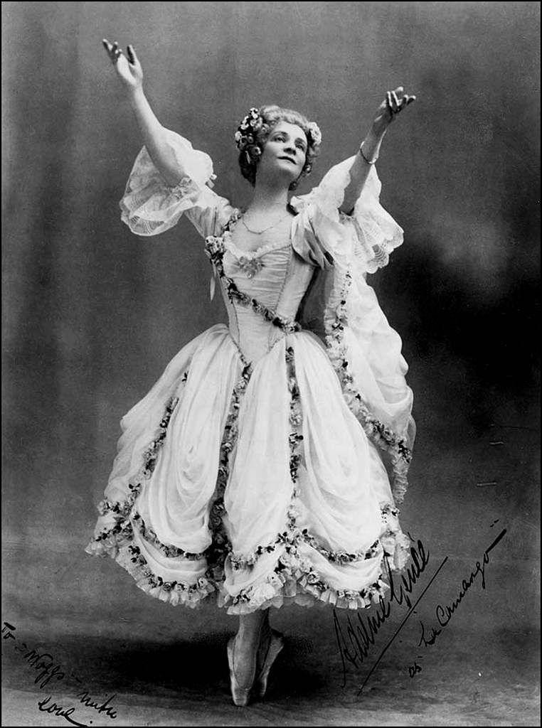 Retro - Adeline Genée (1878-1970) - danseuse