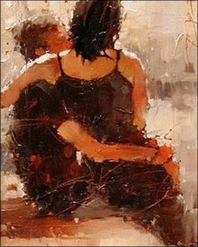 Amoureux en peinture - André Kohn