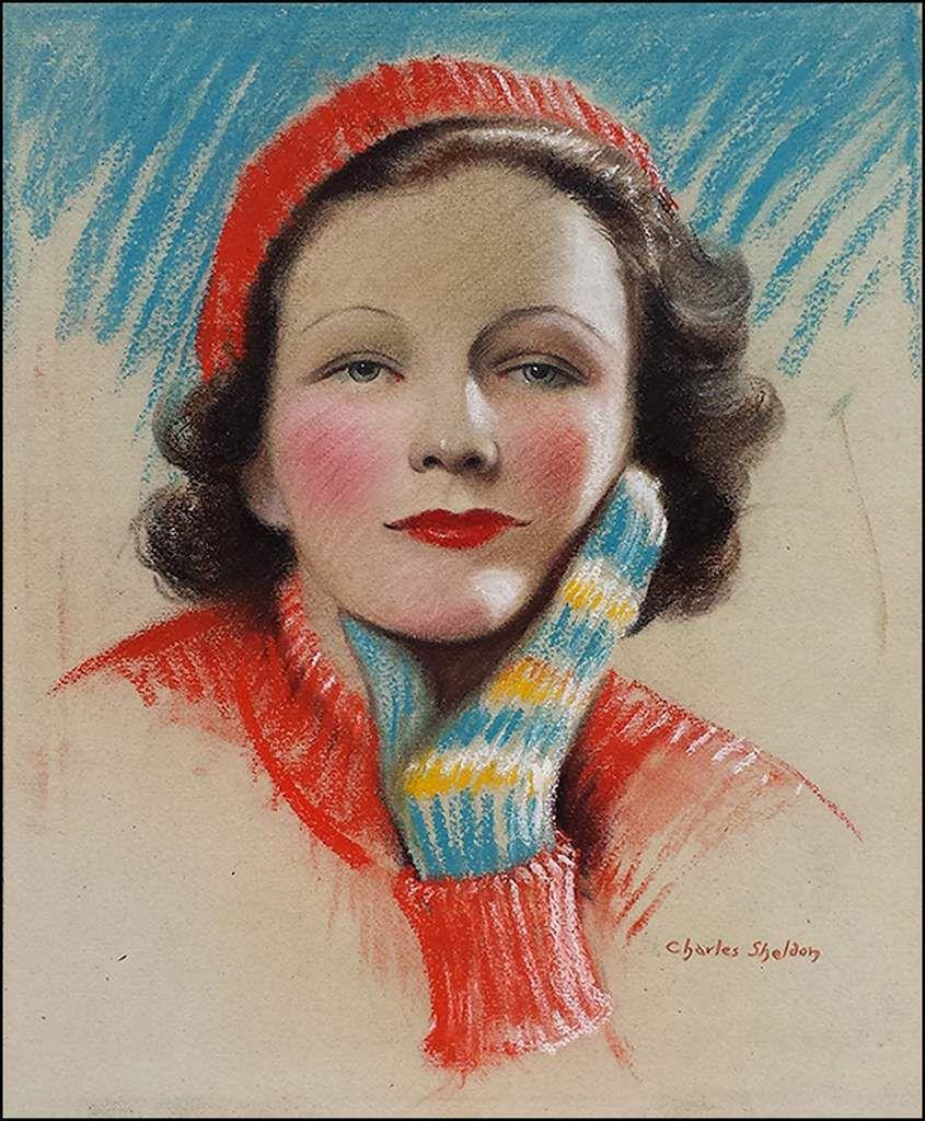 Femmes à chapeau par les grands peintres (342)