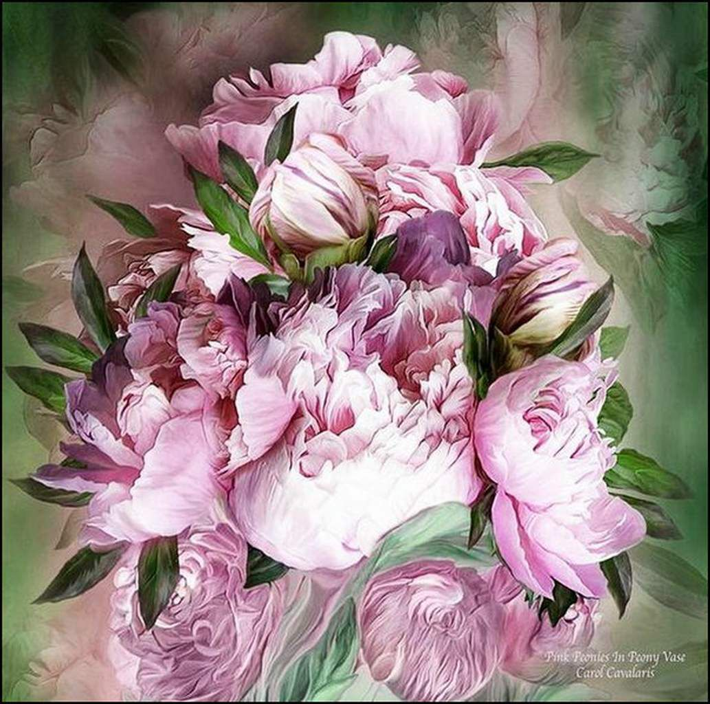 Les fleurs par les grands peintres (72) - Carol Cavalaris