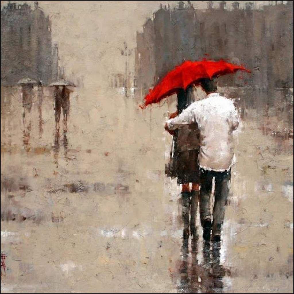 Amoureux en peinture - André Kohn - Les amoureux