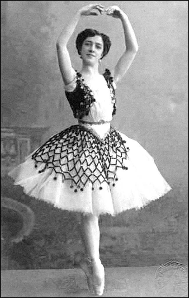 Retro - Agrippina Vaganova (1879-1951) - danseuse