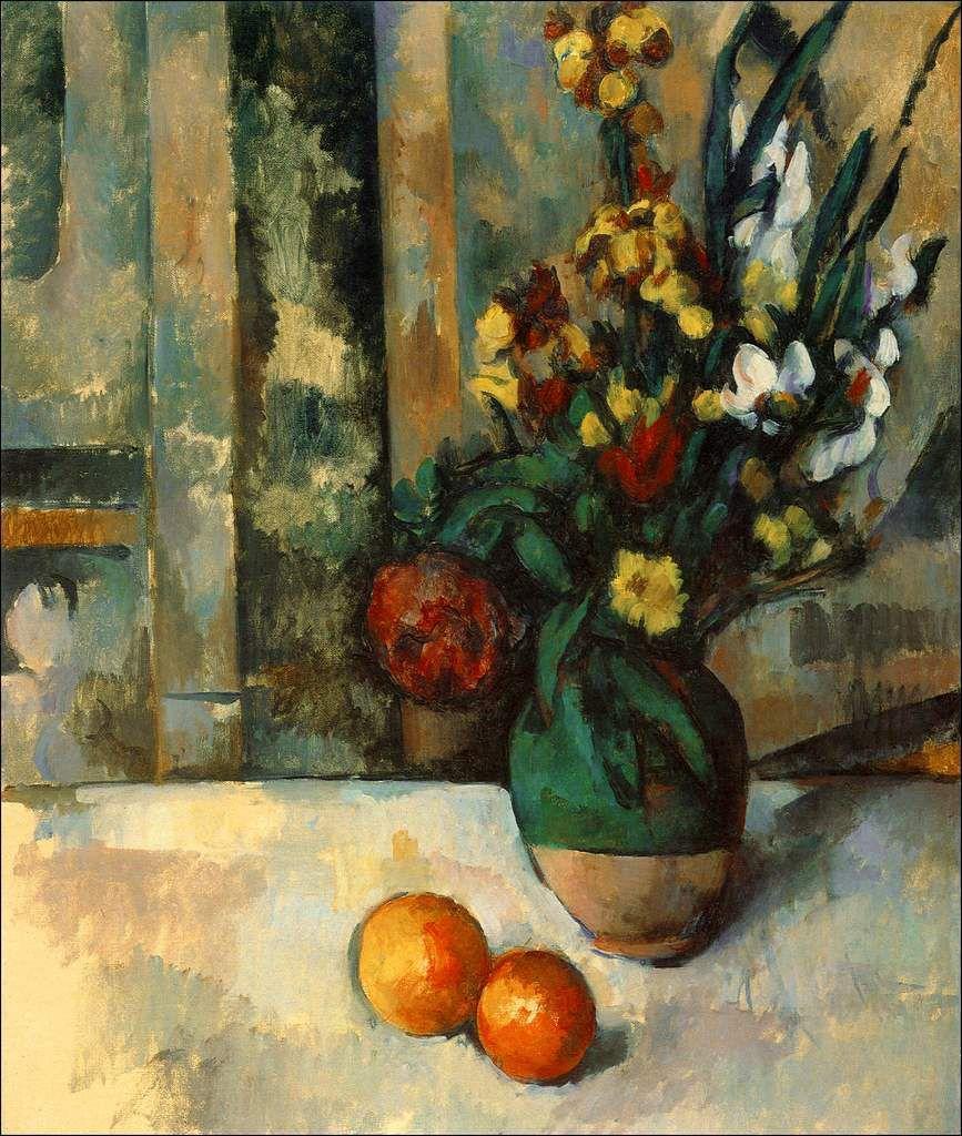 Les fleurs par les grands peintres (78) - Paul Cézanne (1839-1906)