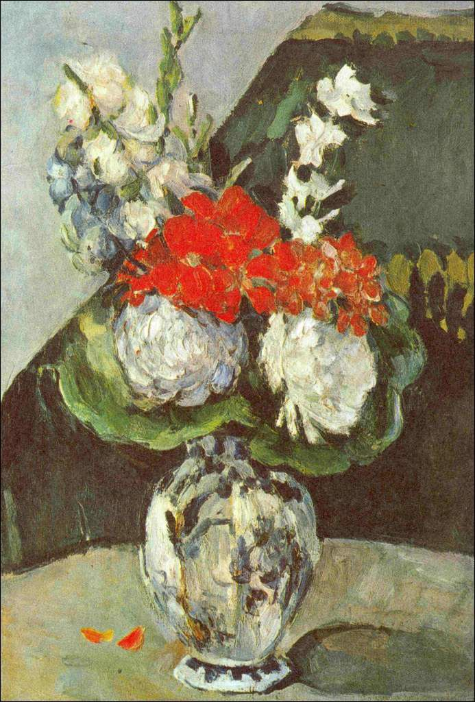 Les fleurs par les grands peintres (77) - Paul Cézanne (1839-1906)
