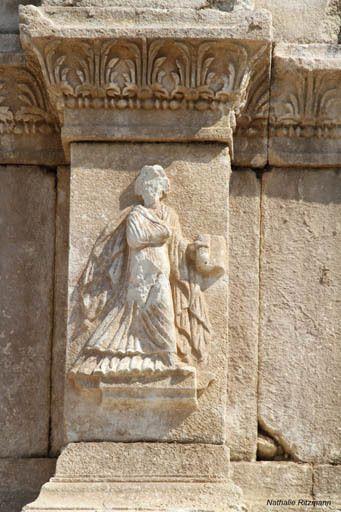 Détail du nymphée d'Hadrien de Sagalassos