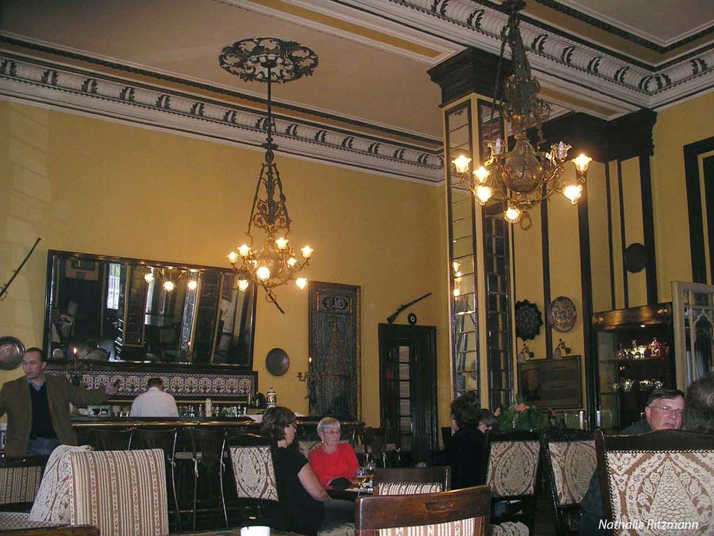 Le bar du Pera Palace en 2006...