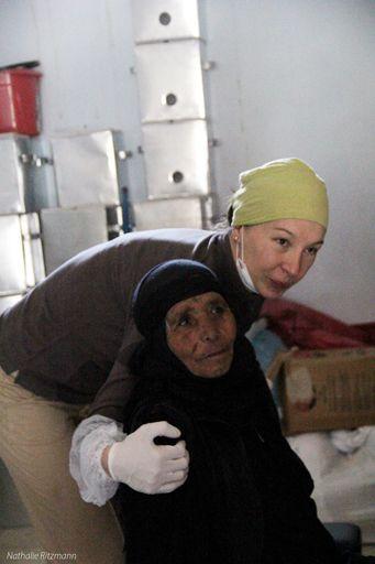 Aurélie Belsot, chiropracteur et volontaire dans un camp de réfugiés syriens à Adana