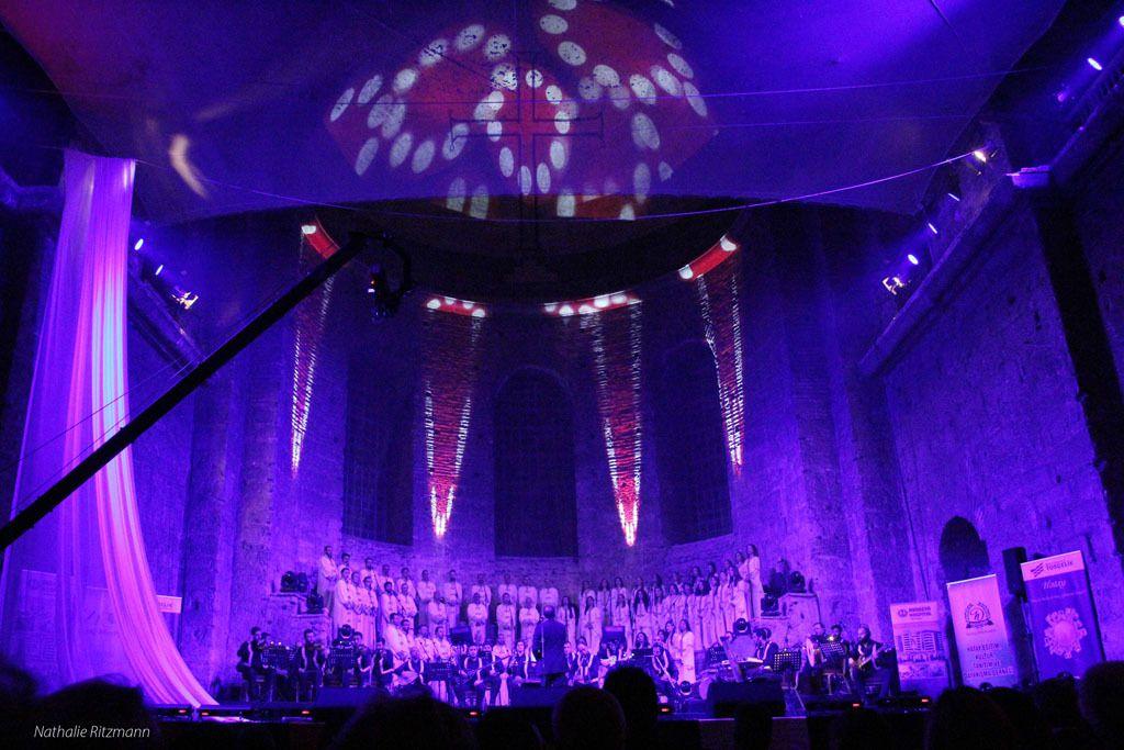 11.04.2015 - Concert du Choeur des Civilisations d'Antioche à Istanbul