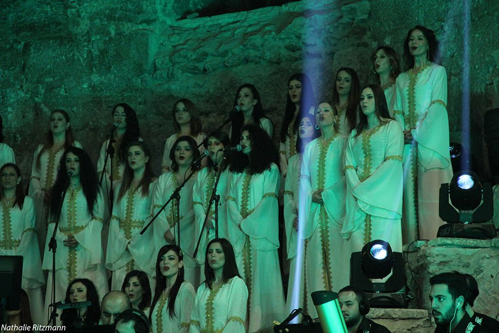 Une partie du Choeur des Civilisations d'Antioche en concert à Istanbul