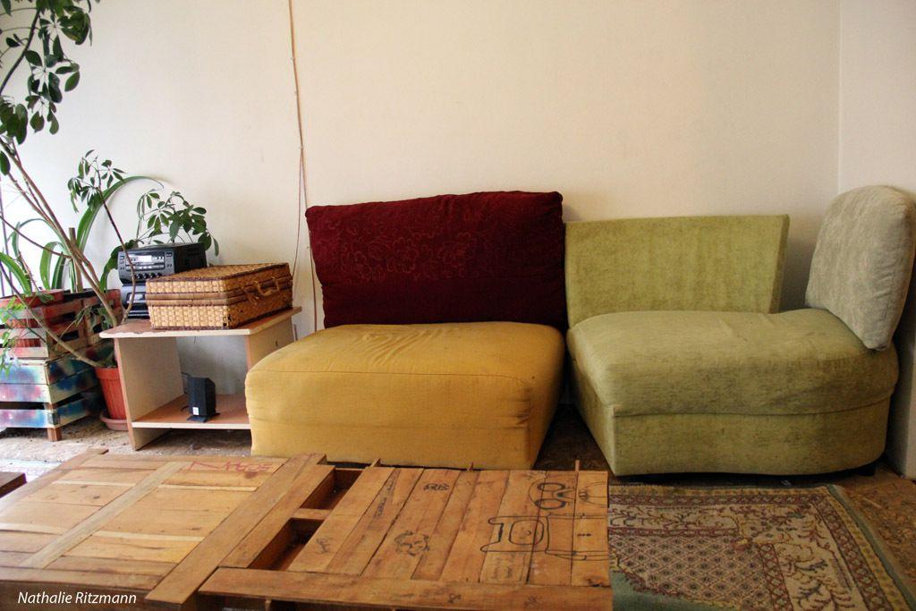 A l'étage de Komşu Kafe à Kadıköy