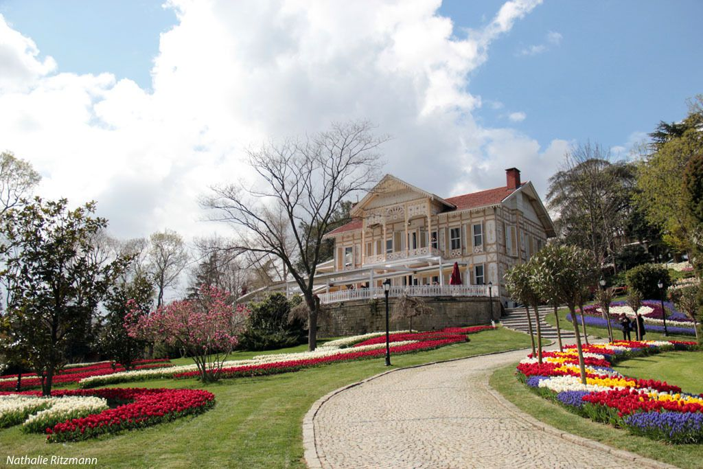 Villa jaune au parc d'Emirgan, Istanbul