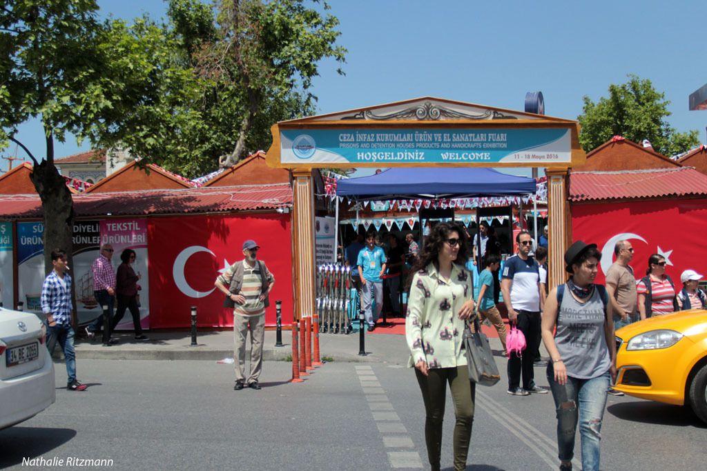 Kadıköy, Istanbul - 5ème Foire aux produits et ouvrages artisanaux fabriqués dans les prisons en Turquie