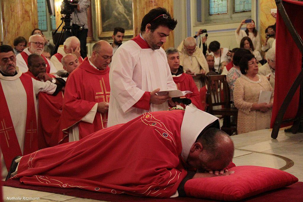Mgr Rubén Tierrablanca Gonzales, nouvel évêque ordonné à Istanbul
