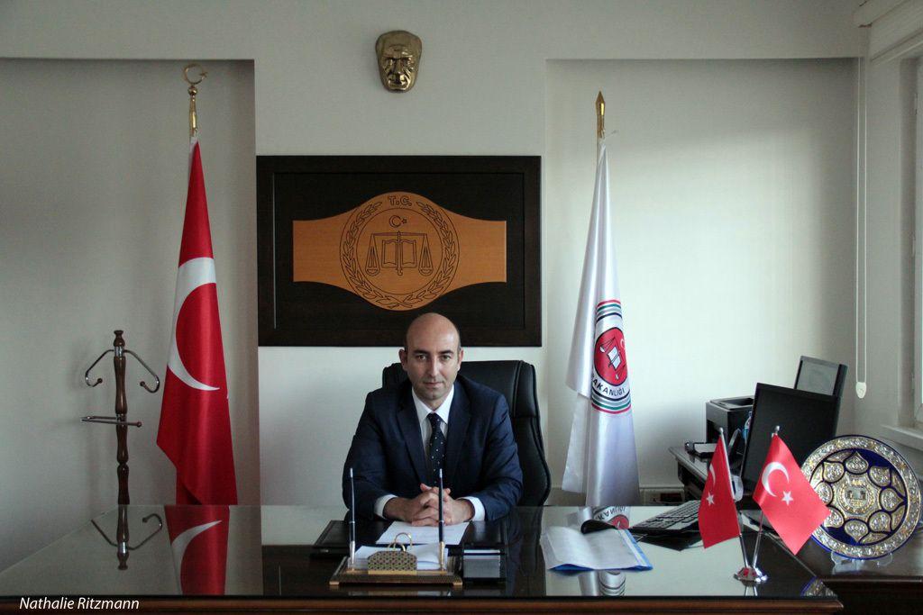 Ziya Baytam, le directeur de la prison L3 pour hommes étrangers de Maltepe à Istanbul