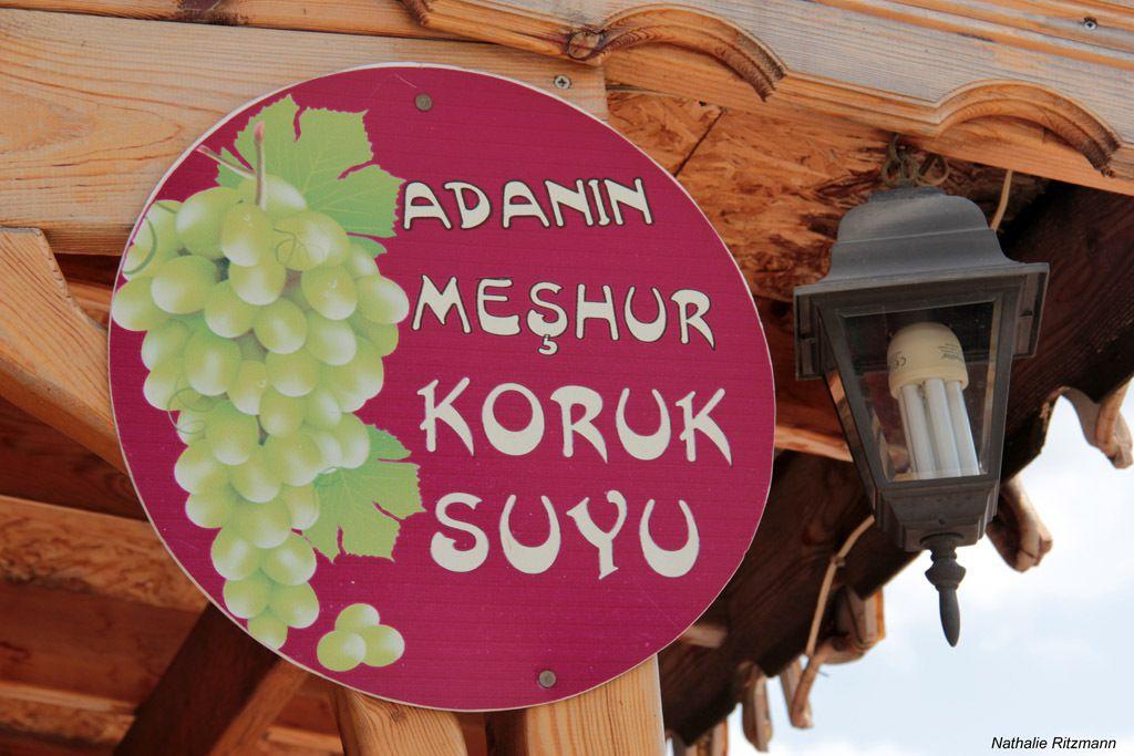 Koruk suyu, le jus de raisin vert servi en été à Marmara